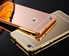 For Huawei Honor 8 Lite(2017) Luxury Aluminium Mirror Finish Back Case Cover
