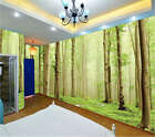 Thickly foggy Woods 3D Full Wall Mural Photo Wallpaper Printing Home Kids Decor
