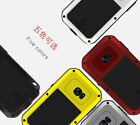 New LOVE MEI Shockproof Aluminum Metal Cover Case For Samsung S6 S7 S8 S8 Plus