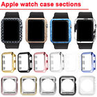 Snap on Case Screen Protector Cover For Apple Watch 2/1 38/42mm Sport Edition