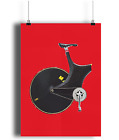 Lotus Sport Chris boardman one hour Record  bicycle prints illustration  cyclinr