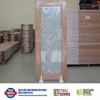 TRANSLUCENT Glass French Solid Timber Doors Hardwood Pantry Sliding or Hinged