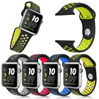 Replacement Silicone Sports Strap Band for Apple Watch Nike+ iWatch Series 2/1