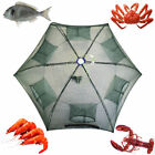 Foldable Crab Net Trap Cast Dip Cage Fishing Bait Fish Minnow Crawfish Shrimp