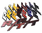 R/T RT Grille Side Trunk Lid Emblem Dodge Challenger Charger SRT Durango Dart $11.39 USD