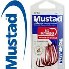 MUSTAD Red Baitholder Fishing Hooks - 1 Pack - Choose your size