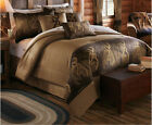 Browning Oak Tree Comforter Set with Sheet and Curtain Option~~ FREE SHIP image