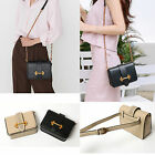 Korea Fashion Women Hookbel Handbags Cross Bag Hip Sack Black Synthetic Leather