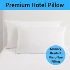 Pillows Fibre Polyester Memory Microfibre Cover Filling Inserts 73x48cm NEW