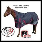 Love My Horse 5'6 - 6'3 1200D 300g Fill Winter Turnout High Neck Wug Horse Rug