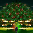 Moving Garden LED Laser Light Projector Indoor Outdoor Christmas Xmas Party Lamp