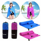 Outdoor Travel Camping Microfiber Quick-Drying Beach Swim Gym Shower Bath Towel image