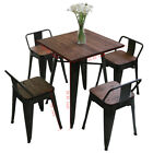Rustic Counter Chair Kitchen Barstool Table Set Dining Room Bar Stools Bar Stool