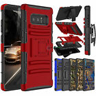 Shockproof Slim Belt Clip Holster Hybrid Case Cover For Samsung Galaxy Note 8