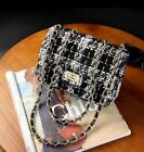 Women New Design Chain Decorated Square Shape Party Style Shoulder Bag