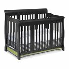 storkcraft baby - Storkcraft Tuscany 4 in 1 Convertible Crib Black