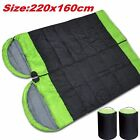 Hooded sleeping bag outdoor camping or indoor sleep with Carry Bag