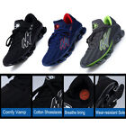 Men's Athletic Sport Shoes Running Track Shoes Sneaker Rubber Sole Cushioning