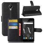 "PU Leather Protective Build-in Wallet Case Cover For 5.0"" Wiko jerry 2 CellPhone"