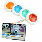 4 Colors Filter Close-up Lens For Fujifilm Fuji Instax Mini 7s 8 Mini 50s Camera