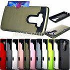for LG V10 case cover w/ card slot double layer shockproof double layer/