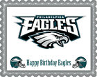 Philadelphia Eagles - Edible Birthday Cake Topper or Cupcake Topper $16.95 USD on eBay