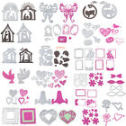 21 Types DIY Metal Cutting Dies Card Craft Stencil Scrapbooking Embossing