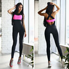 Women's Sports/Training/Gym/Run/Yoga Jumpsuit Active Wear Fitness Stretch Pant