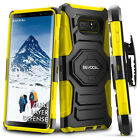 Galaxy Note 8 Case, Evocel Rugged Holster Dual Layer Case w/ Kickstand & Clip