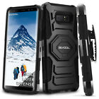 Внешний вид - Galaxy Note 8 Case, Evocel Rugged Holster Dual Layer Case w/ Kickstand & Clip