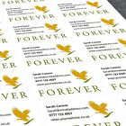 Personalised Stickers Labels Forever Living Sales Reps Custom Print Sticker
