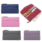 Leather Long Wallets Womens Ladies Purse Envelope Cards Holder Wallet Zipper New