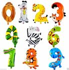 16 inch Animal Style Foil Balloons Kids Party Decoration Happy Birthday Children