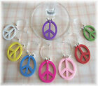 Peace CND Wine Glass Charm, Dinner Table Favours - Party Bag Gifts