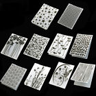 Fashion Plastic Embossing Folders Card Making Decoration Supplies