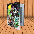 Sally And Jack Nightmare Before Chrismas Amazon Kindle Paperwhite Leather Case