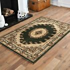 BEST DISCOUNT RUG QUALITY TRADITIONAL SMALL GREEN CLASSIC ELEGANT 80x150cm RUG