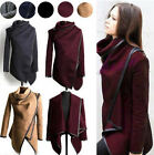 Women's Ladies Winter Warm Wool Trench Coat Long Jacket Outwear Parka Cardigans