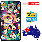 Galaxy Note 8 S8 S7 S6 S5 Edge Plus Rubber Case Disney Pattern For Girls Samsung