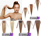 Thick 100g human hair high ponytail clip in 100% human hair extension easy clips