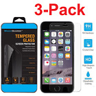 3-Pack Premium Real Screen Protector Tempered Glass For iPhone 5 6 6s 7 Plus