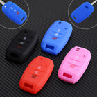 3 BTN Silicone Remote Flip Key Cover Case Fob Shell for KIA K3 RIO SPORTAGE Soul