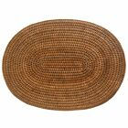Set of 4 or 6 Oval Woven Wicker Rattan Placemats - Best Quality