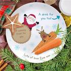 Personalised Childrens Christmas Santa Plate Leave food for Rudolph add Name(s)
