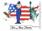 PERSONALIZED CUSTOM CARTOON PRINT - U.S. AIR FORCE - GREAT GIFT IDEA! FREE S/H