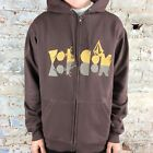 Volcom Reflect Basic Hooded Zip Brand New in Brown in size S, M