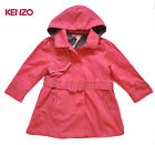 NWT KENZO KIDS Girls Pink Trench Coat Size 5 yrs Last Chance!