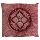 Japanese floor pillow cushion cover zabuton cotton flower hanakanoko 55 x 59cm