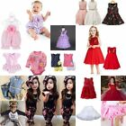 [BIG SALE] Baby Kids Girl Wedding Casual Cute Dress Clothes Romper Outfit Set