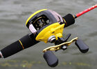 Yellow Low Profile Baitcast Reel Left / Right Hand LP200
